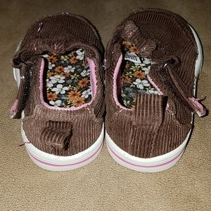 f001ac3b26a053 Faded Glory Shoes - Girl s brown corduroy shoes